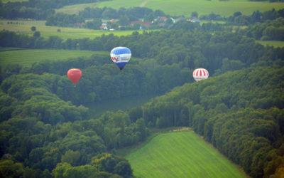 Полеты на воздушном шаре над Чехией