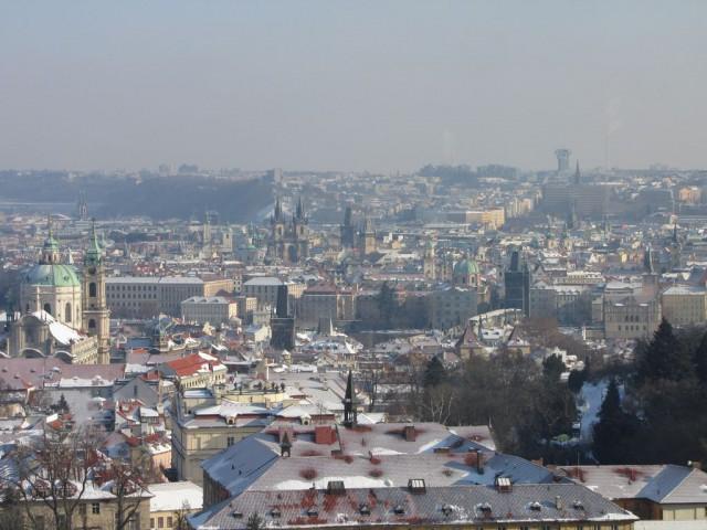 Вид со Страговского монастыря