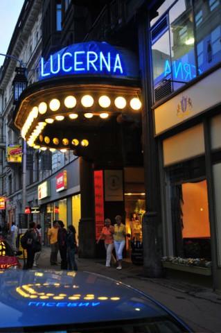 Кафе Люцерна в Праге