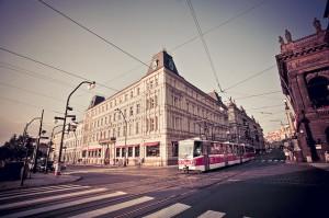 Кафе Славия в Праге