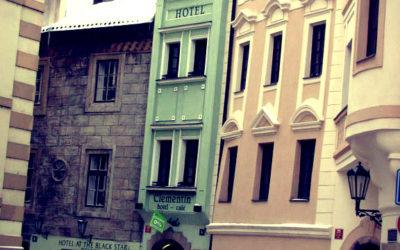 «Clementin Old Town» — самый узкий дом в Праге