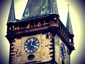 Подъем на Староместскую ратушу