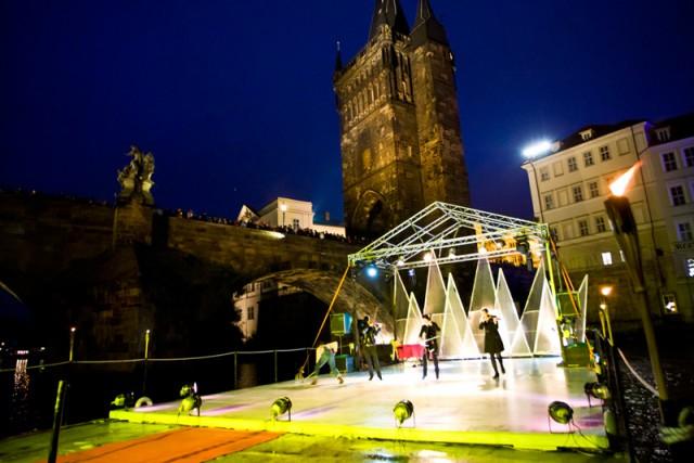 Фестиваль на воде в Праге