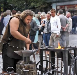 Фестиваль кузнецов в Чехии