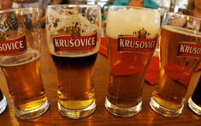 Экскурсия на завод Крушовице в Чехии