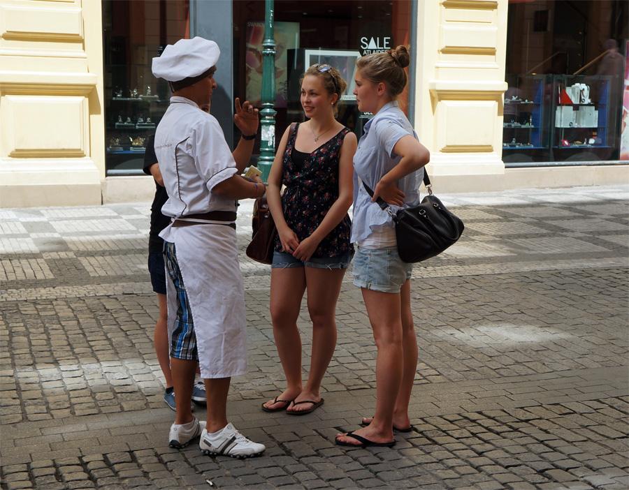 Магазин шоколада в Праге Viva Praha