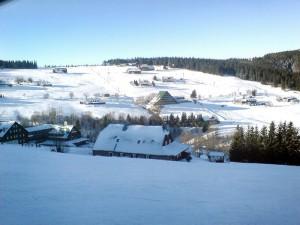 Лыжный курорт Пец под Снежкой