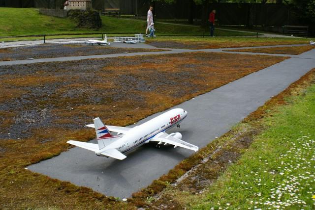 Аэропорт в Марианске-Лазне