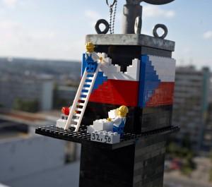 Башня из Лего в Праге