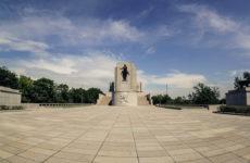 Витковский Холм и памятник Яну Жижке