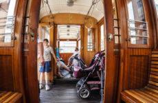 Поездка на историческом трамвае №91