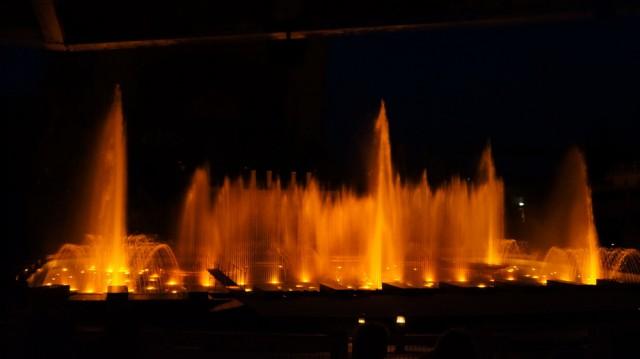 Поющие фонтаны в Праге