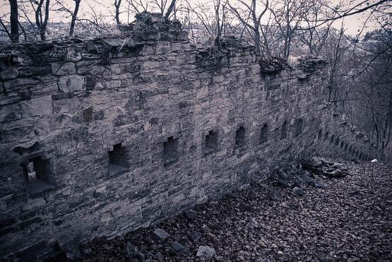Стена голода в Праге