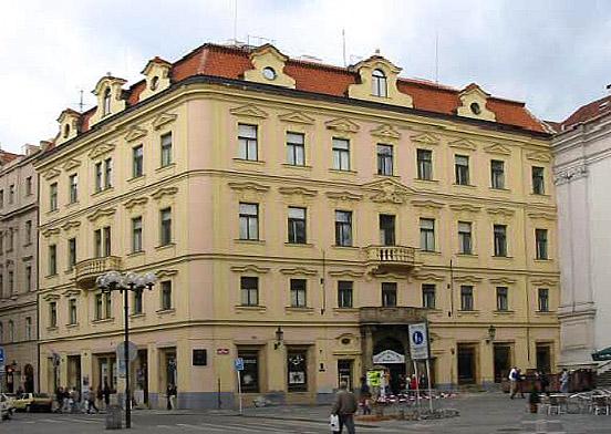 Дом, где Родился Франц Кафка