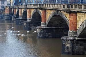 Мост Палацкого в Праге
