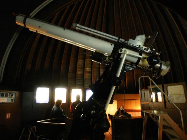Телескоп в Обсерватории Стефаника в Праге