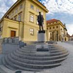 Памятник Т.Г. Масарику у Пражского Града