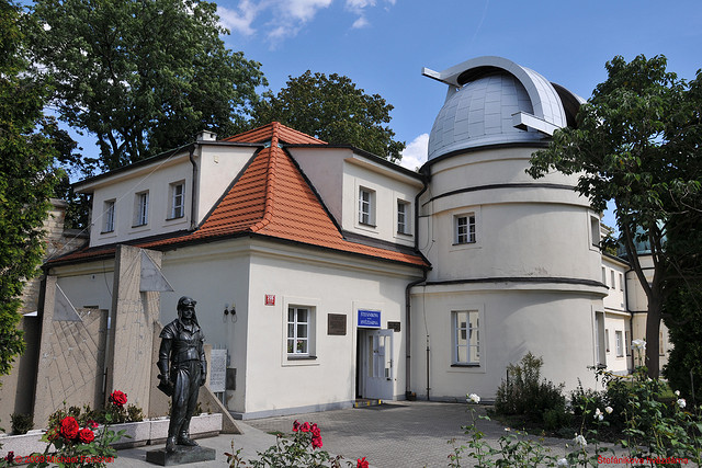 Обсерватория Стефаника находится на известном холме Петршин