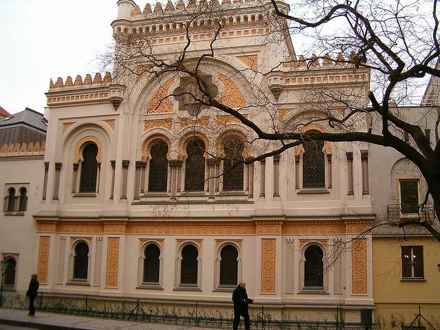 Испанская синагога в Праге просто шикарна, обязательно её посетите