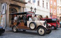 Прогулка на машине с открытым верхом по Праге