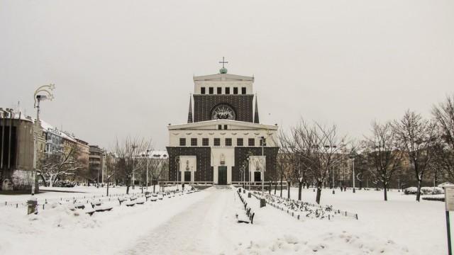 Церковь Пресвятого Сердца Господня в районе Винограды