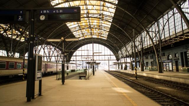 На поезде из Праги в Вену