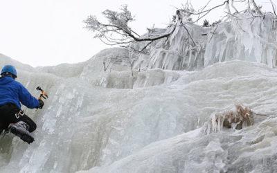 Ледопады и ледолазание в Чехии