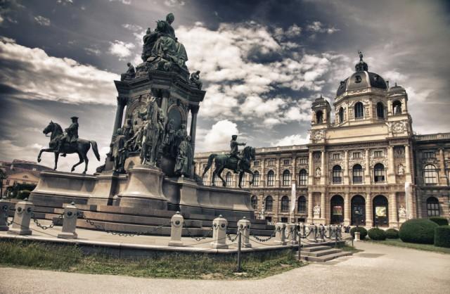 В Вену на поезде из Праги
