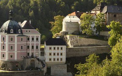 Удивительная история замка в Бечов-над-Теплой
