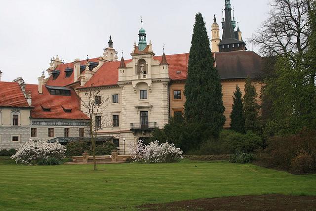 Чешский замок Пругонице