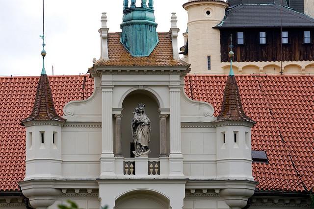 Замок Пругонице в Чехии