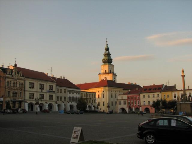 Город Кромержиж в Чехии