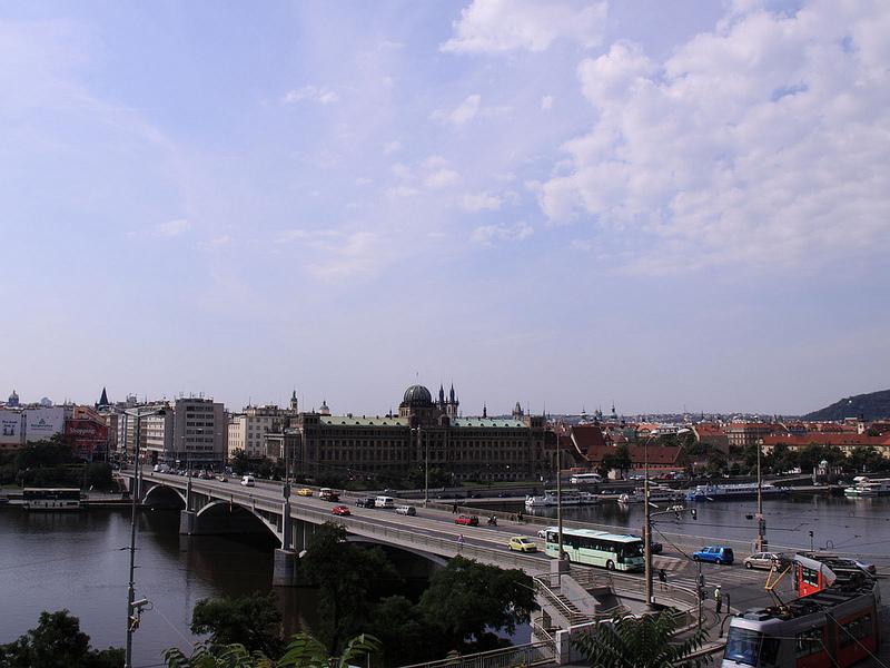 Стефаников Мост в Чешской Столице