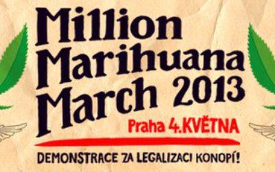 Всемирный Марш Марихуаны 2013 в Праге