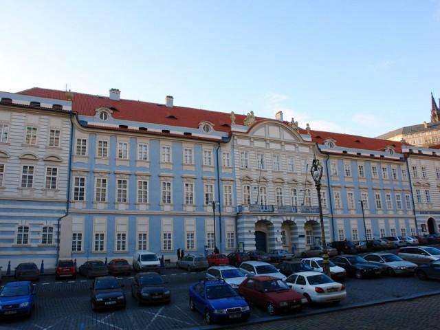 Лихтенштейнский дворец на Малостранской площади