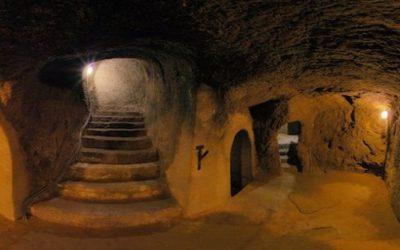 Подземные лабиринты в Зноймо