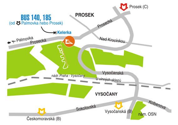 Как добраться до бобслейной трассы в Праге