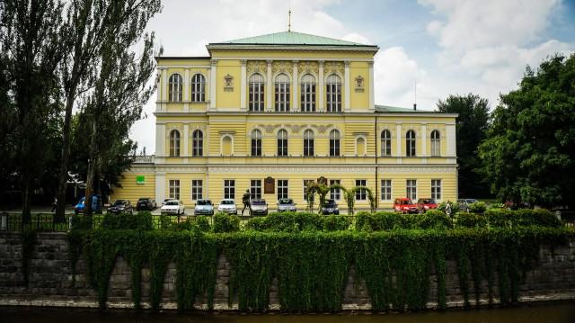 Дворец Жофин расположился на Славянском острове Праги