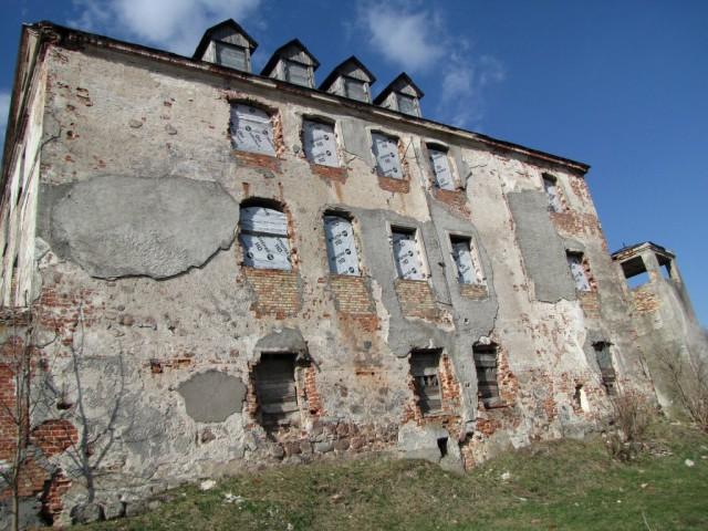 Замок Лик (Элкский замок) в Польше находится в состоянии развалин