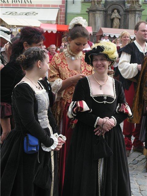 Праздник пятилепестковой розы в Чешском Крумлове