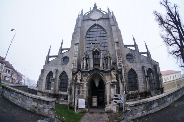 Собор Успения Девы Марии в Кутной Горе, Чехия.