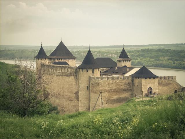 Хотинский замок в Украине