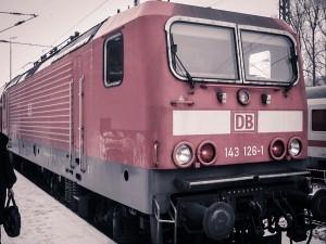 Поезд немецких железных дорог