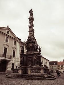 Чумная колонна, установленная в Кутной Горе