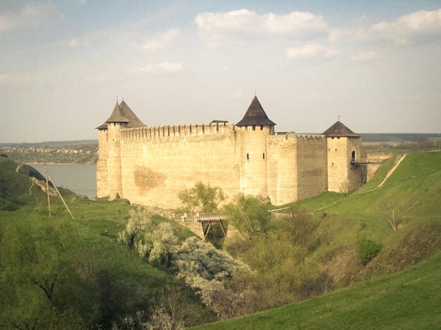 Хотинский замок в Черновицкой области Украины