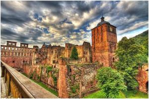 Гейдельбергский замок в HDR