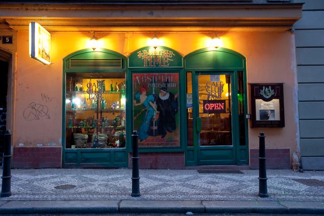 Где купить и попробовать настоящий абсент в Праге