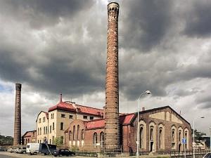 Здание музея канализации в Праге