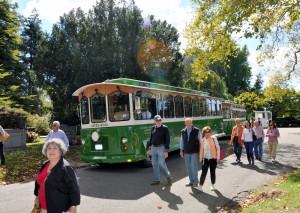 Автобусный тур по кладбищу