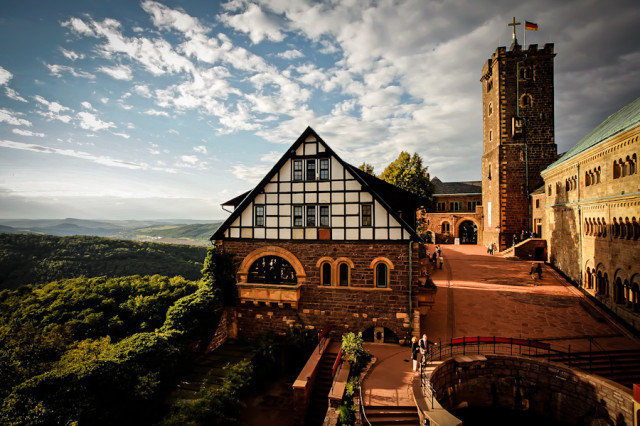 Замок Вартбург в Германии